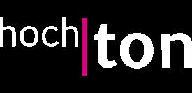 hoch|ton Logo